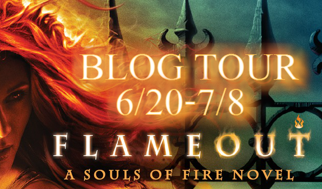 Keri Arthur's RED HOT TOUR: Flameout available TODAY