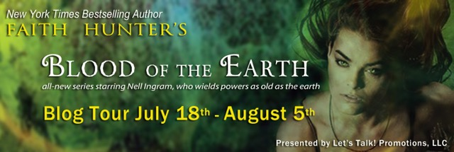 Faith Hunter's Blood of the Earth, Q&A Giveaway and Excerpt!
